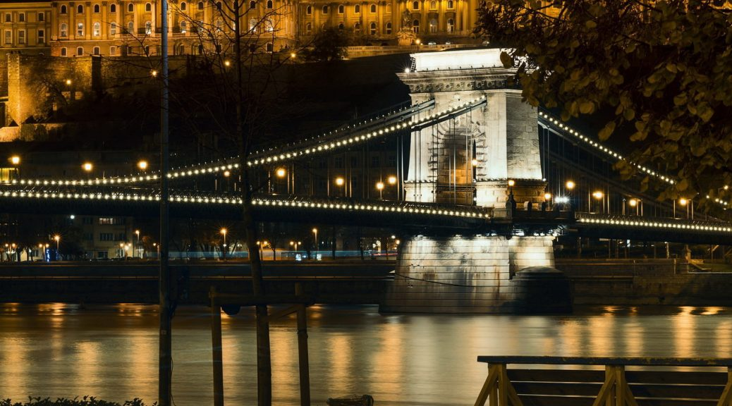 Budapest by night tour with tour guide