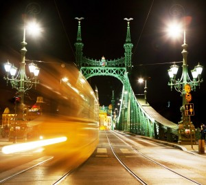 BudapestByNightLibertyBridge