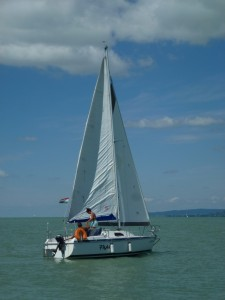 Sailing on Lake Balaton 10