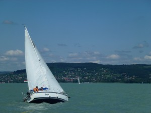 Sailing on Lake Balaton 11