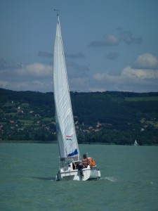 Sailing on Lake Balaton 12