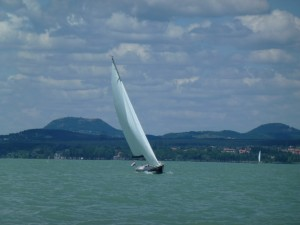 Sailing on Lake Balaton 14