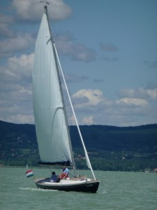 Sailing on Lake Balaton 15
