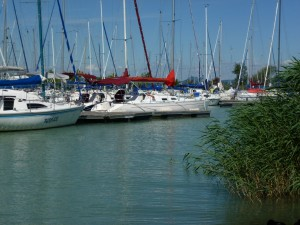 Sailing on Lake Balaton 2