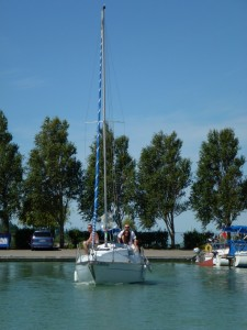 Sailing on Lake Balaton 4