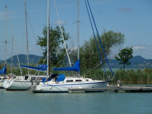 Sailing on Lake Balaton 5