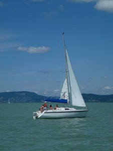 Sailing on Lake Balaton 7
