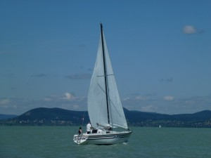 Sailing on Lake Balaton 8