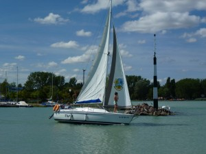 Sailing on Lake Balaton 9